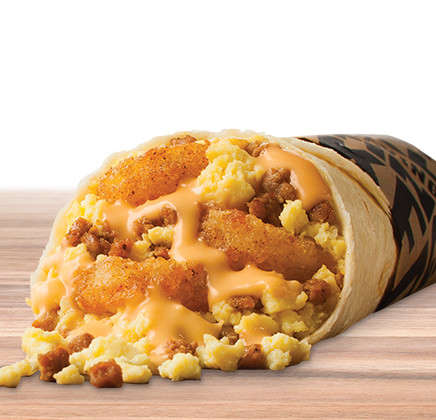 Family Dinner Burritos - Taco John's Release a Soft Taco Filled With Chicken and Gravy Toppings
