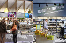 Convenience-Focused Grocery Displays - The Centra Concept Store Features Vivid and Digitized Signage