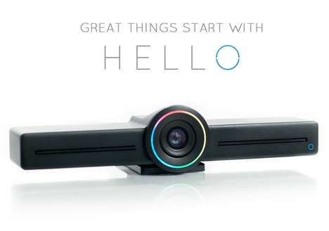 Voice-Controlled Conferencing Cameras - The 'HELLO' Video Conferencing Camera is Multifaceted