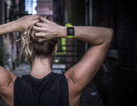Athletic Training Smartwatches - The Garmin Forerunner 35 GPS Smartwatch Pushes Athletes Further