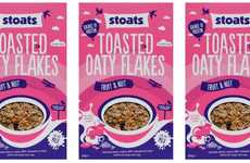Nutty Breakfast Cereals - This Wholesome Cereal is Infused with Nuts and Dried Fruits