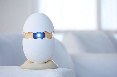 Interactive AR Projectors - The 'Egger' Media Projector is Designed with Children in Mind