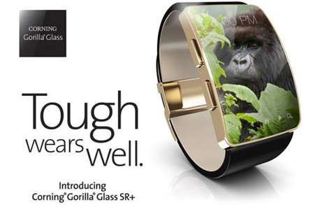 Durable Glass Smartwatches - Corning's Gorilla Glass is Now Being Applied to a Line of Sleek Watches
