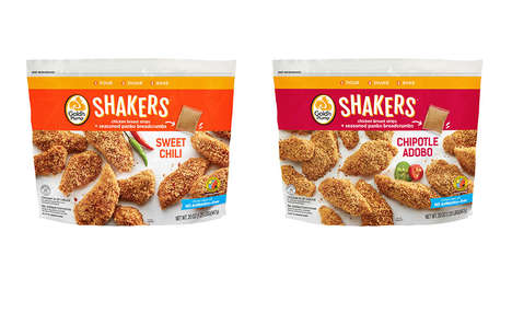 DIY Chicken Kits - The Gold'n Plump SHAKERS Put a DIY Twist on Breaded Chicken Strips