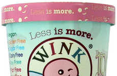100-Calorie Dessert Pints - Wink Frozen Desserts' Ice Cream Pints are Diet- and Allergy-Friendly