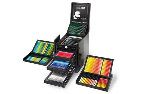 Luxury Designer Coloring Sets - These Pencil Crayons Were Designed by Chanel's Creative Director