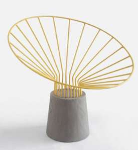 Circular Spoke Chairs - This Unconventional Seating Design Makes for an Excellent Statement Piece