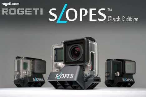 Versatile Action Camera Holders - The SLOPES GoPro Stand Can Position Devices 18 Different Ways