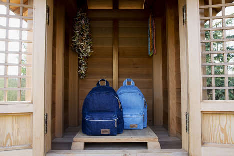 Luxury Denim Backpacks - There are Only a Handful of These Handmade Backpacks Available