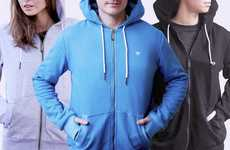 Travel-Focused Hoodies - This Multi-Functional Apparel Keeps Valuables Safe and Its Wearer Warm