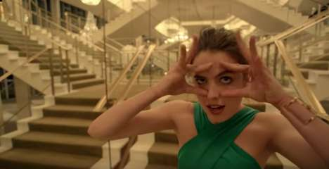 Offbeat Fragrance Commercials - This Spike Jonze-Directed KENZO World Ad Defies Stereotypes