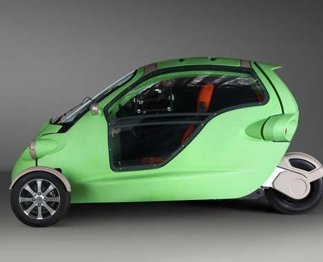 Bug-Shaped Electric Cars
