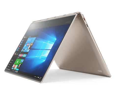 Ultra-Flexible Convertible Laptops - The New Yoga 910 is Equipped With Supremely Flexible Hinges
