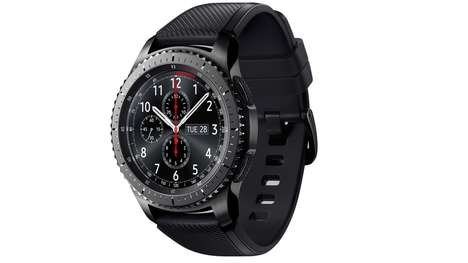 Comprehensively Rugged Smartwatches - The Samsung Gear S3 Frontier is Designed For Outdoorsy Use