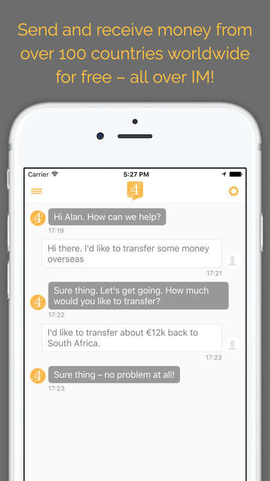 Streamlined Money Transfer Apps - The Exchange4free App Enables Cross-Border Money Transfers