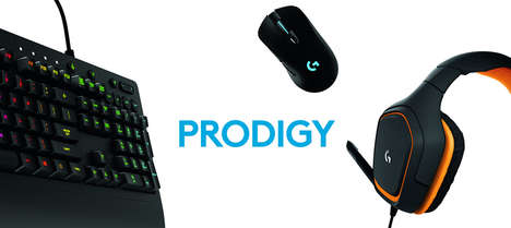 Gamer-Targeted Peripherals - The Logitech G Prodigy Series Gaming Peripherals are Ready for Action
