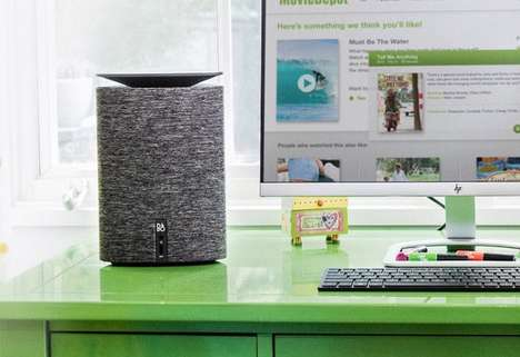 Designer Desktop PCs - The HP Pavilion Wave is a New Desktop PC that's Meant to be Displayed