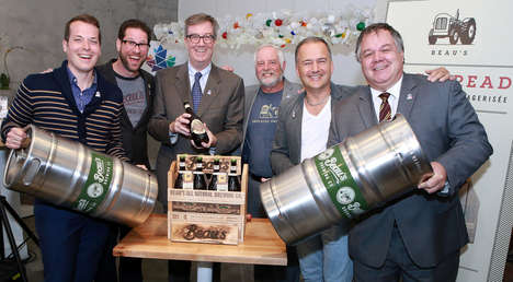 Nation-Celebrating Beers - Beau's is Crafting A Special Birthday Beer for Canada's 150th Anniversary