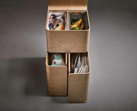 Multi-Functional Garbage Boxes