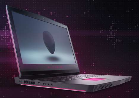 Eye-Tracking Gaming Laptops - The Alienware 17 Notebook Computer is Prepared for Intensive Gaming