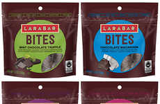 Bite-Sized Dessert Snacks - This Larabar Product Offers Bite-Bized Snacks in a Resealable Bag
