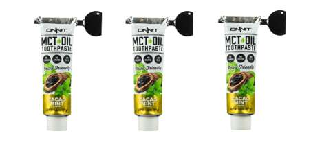 Paleo Oil Toothpastes - This Tooth Cleaning Product Contains MCT Oil for Natural Oral Care