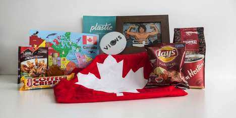"Patriotic Welcome Kits - Plastic Mobile Sent US Start-Ups a ""Starter Pack"" of Canadian Goods"