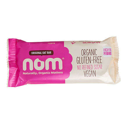 Simplistic Oat Bars - NOM's 'Original Oat Bar' Emphasizes Clean, Organic and Gluten-Free Ingredients