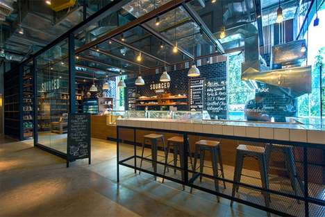 Artisanal Boutique Grocers - Thailand's Sourced Grocers Market is a Shop and Cafe Hybrid