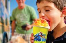 Fruity Shaved Ice Drinks - Kona Ice's New FruitFirst Products Serve as a Healthy Drink Alternatives