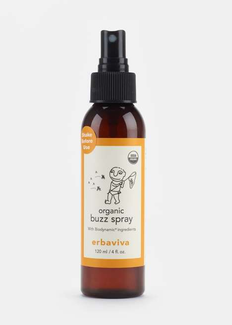 Kid-Friendly Bug Sprays - Erbaviva's Organic Buzz Spray is Free From Synthetic Ingredients