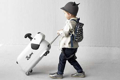 Toy Canine Carry-On - This Cute Kids' Luggage Serves a Second Function as a Plaything