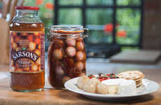 Interactive Pickling Campaigns - Sarson's New Campaign Encourages Consumers to Make Homemade Pickles