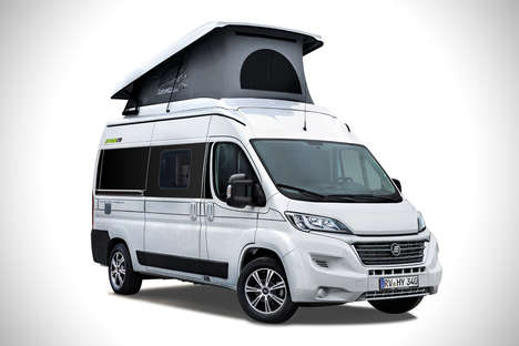 Camper Van Conversion Kits - The Hymercar Ayers Rock Kit Turns an Ordinary Van into Luxury Camper