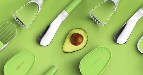 Specialized Fruit Arsenals - This Set of Avocado Tools Enables You to Prepare in Any and Every Way