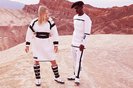 Explorative Space Sportswear - UEG x Puma's Gravity Resistance Line Draws Upon Intergalactic Travel