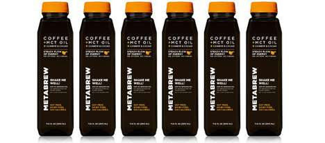 Vitalizing Nut Coffees - The METABREW Caffeinated Drinks Provide Plant-Based Energy