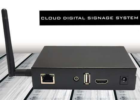 Cloud-Based Signage Systems - This Cloud Digital Signage System Saves Business Owners Time and Money