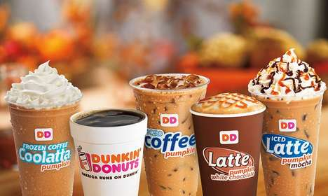 Unsweetened Pumpkin Flavor Shots - Dunkin' Donuts is Testing Out a Sugar-Free Pumpkin Sauce