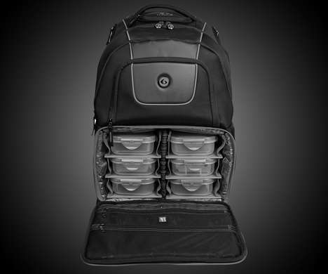 Modular Meal-Holding Knapsacks - The Voyager 500 Meal Bag Backpack Keeps Food Fresh During Transport