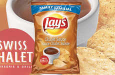 Chicken Sauce-Flavored Chips - The New Lay's Potato Chips Feature the Taste of Swiss Chalet Sauce