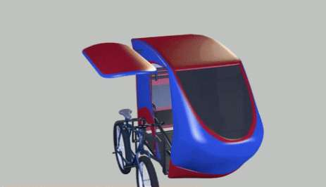 Multi-Functional Bike Sidecars - This Detachable Sidecar Makes Transporting People and Things Easier