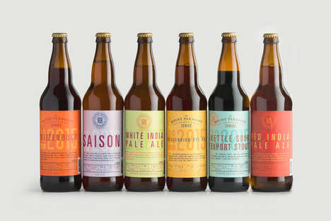 Unconventional Beer Flavors - These Beers Were Made with a Diverse Range of Flavors