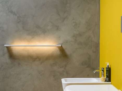 Illuminating LED Towel Racks - The 'Shine' Bathroom Towel Rack Provides Efficient Lighting