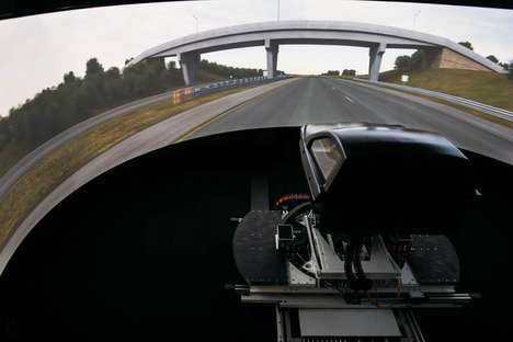 Nauseating Driving Simulators - This Simulator Makes People Sick to Improve Future Vehicle Designs