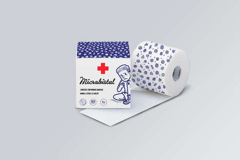 Design-Conscious Medical Supplies - The Microbist Medical Kit Supplies are Visually Appealing