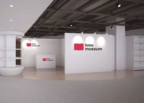 Music Store Museums - HMV's Store Museum in Japan Showcases the Work of 'EBiDAN'