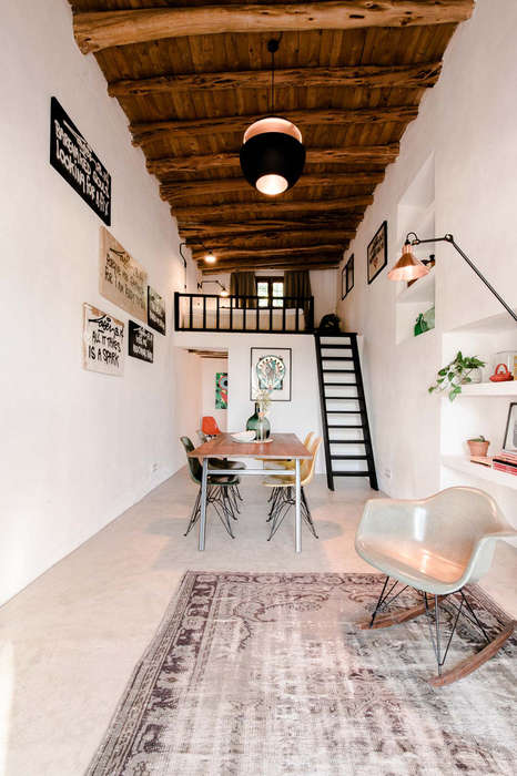 Converted Rustic Guest Homes - This Guest House Was Once a 200 Year Old Stable