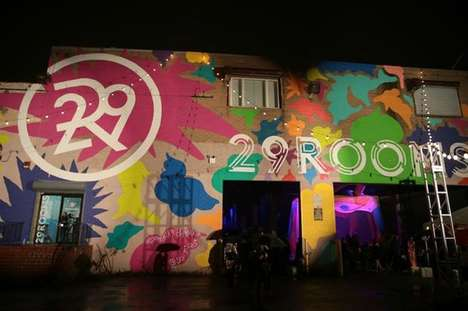 Eco Automotive Gardens - Refinery29's '29Rooms' Features an Interactive Experience with Ford