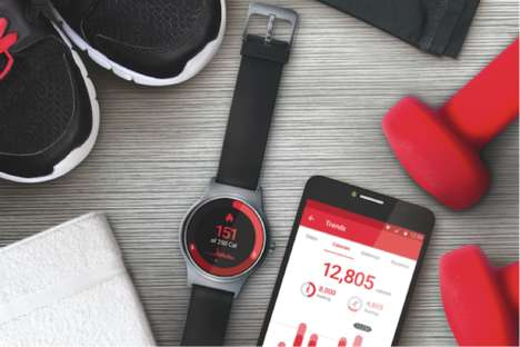 Heart-Monitoring Smartwatches - This New Alcatel Smartwatch Offers Heart Rate Monitoring On a Budget